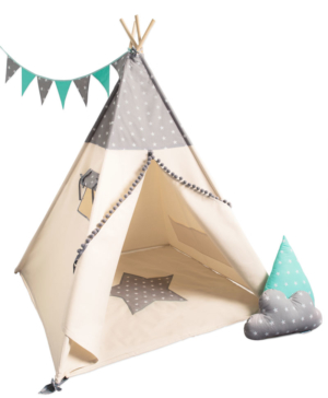 tipi Grey Stars Boy set
