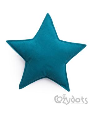 turkusowa gwiazdka
