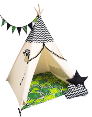 tipi Monstera set