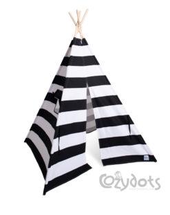 tipi black stripes