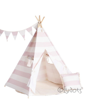 teepee stripes pink