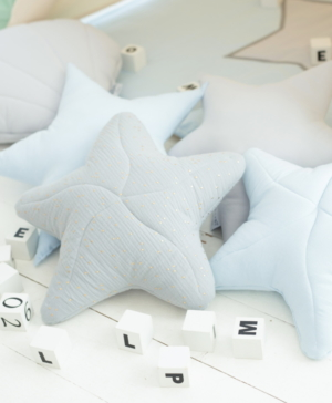 grey pillow star