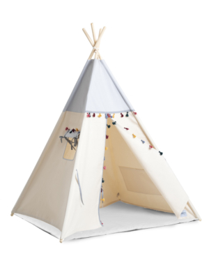 tipi-set-boho-grey