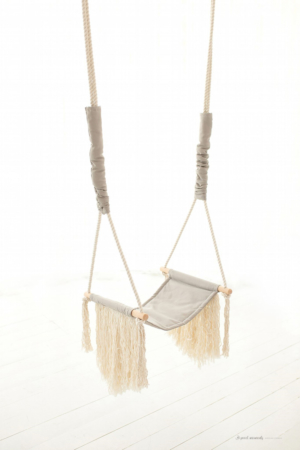 GREY SWING FRINGE