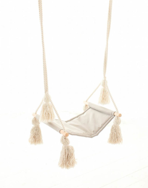GREY TASSEL SWING