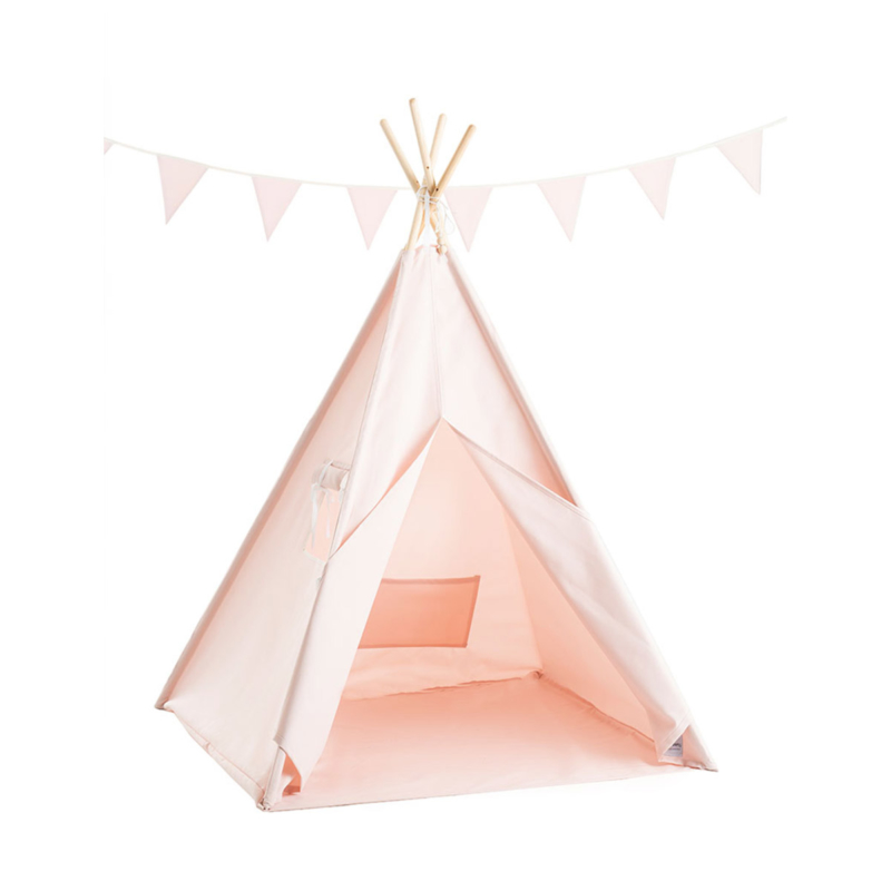 tipi waterproof outdoor pink